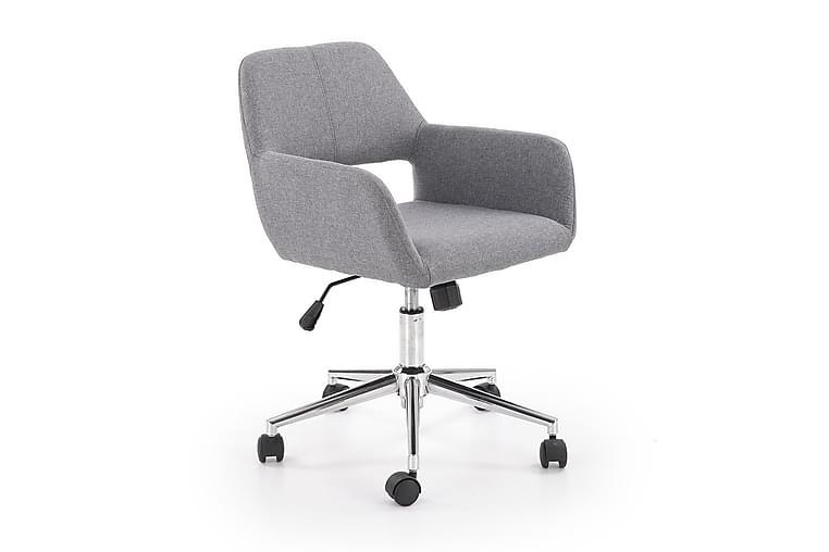 Morel Skrivebord 55 cm - Grå - Møbler - Stoler - Kontorstol & skrivebordsstol