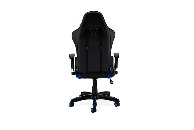Pro Gamingstol Kunstlær - Blå - Møbler - Stoler - Kontorstol & skrivebordsstol