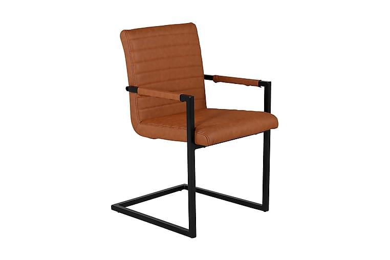 Alan Kjøkkenstol - Brun/Svart - Møbler - Stoler - Spisestuestoler & kjøkkenstoler