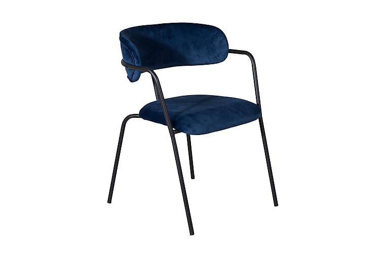 Arcarazo Lenestol - Blå/Svart - Møbler - Stoler - Spisestuestoler & kjøkkenstoler