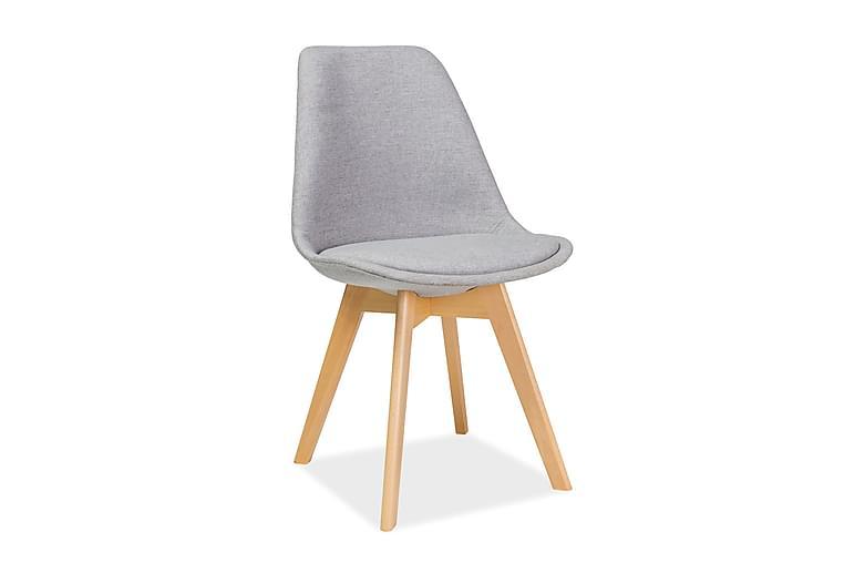 Diora Spisestol 4-pk - Lysegrå - Møbler - Stoler - Spisestuestoler & kjøkkenstoler