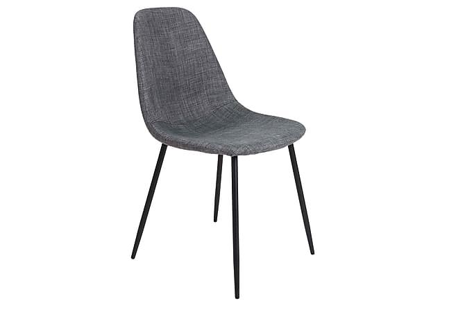 Huwe Kjøkkenstol - Mørkegrå/Svart - Møbler - Stoler - Spisestuestoler & kjøkkenstoler
