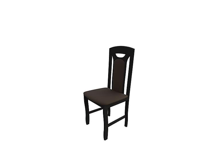 Lawena Spisestol 46x46x101 cm - Wenge - Møbler - Stoler - Spisestuestoler & kjøkkenstoler
