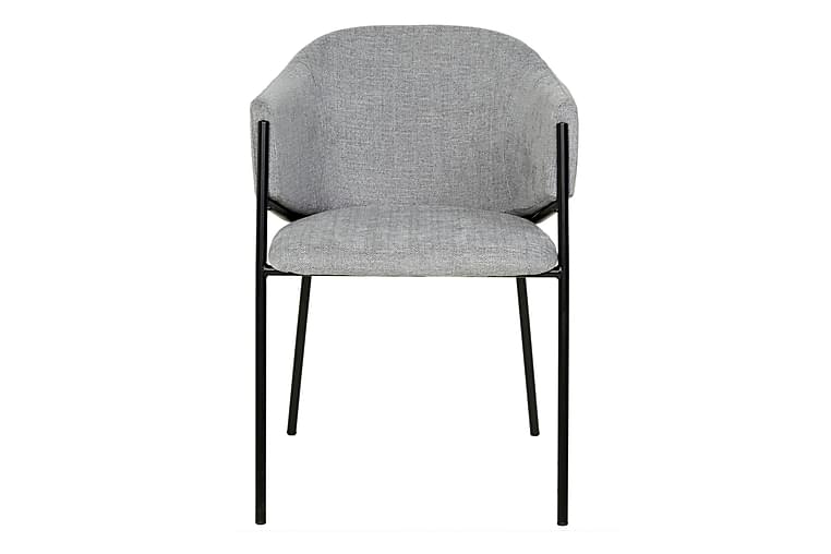 Lencey Spisestol - Grå / Hvit - Møbler - Stoler - Spisestuestoler & kjøkkenstoler