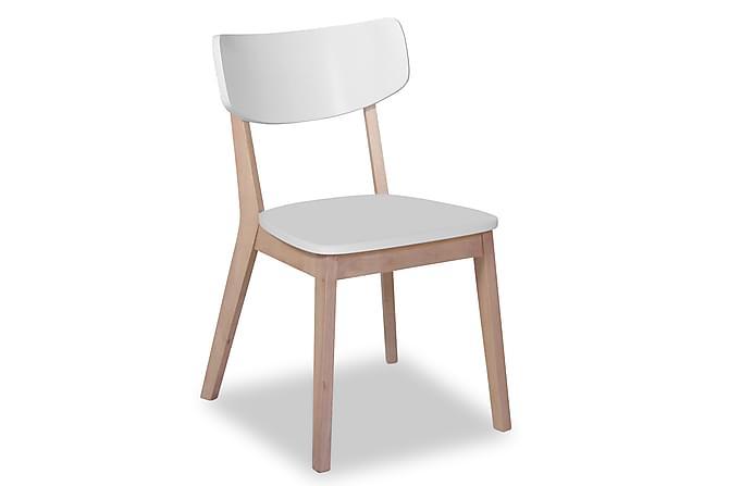 Nordkapp Spisestol - Hvit/Tre - Møbler - Stoler - Spisestuestoler & kjøkkenstoler