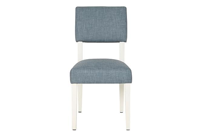 Pegeia Spisestol 2-pk - Blå/Hvit - Møbler - Stoler - Spisestuestoler & kjøkkenstoler