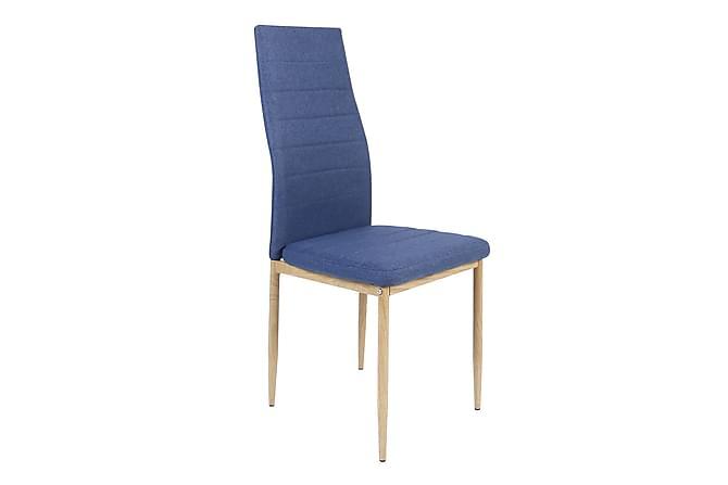 Ted Spisestol - Blå/Tre - Møbler - Stoler - Spisestuestoler & kjøkkenstoler