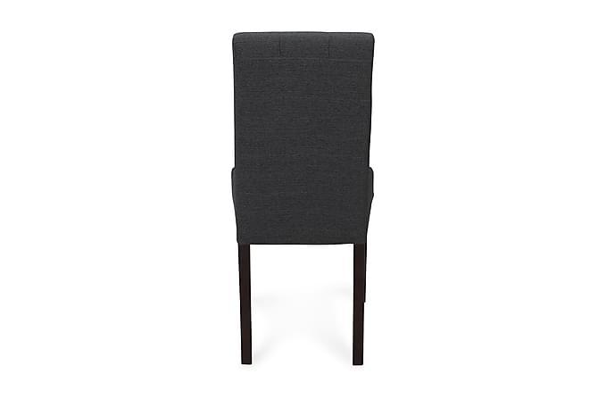 Viktor Spisestol - Mørkegrå/Mørkebrun - Møbler - Stoler - Spisestuestoler & kjøkkenstoler