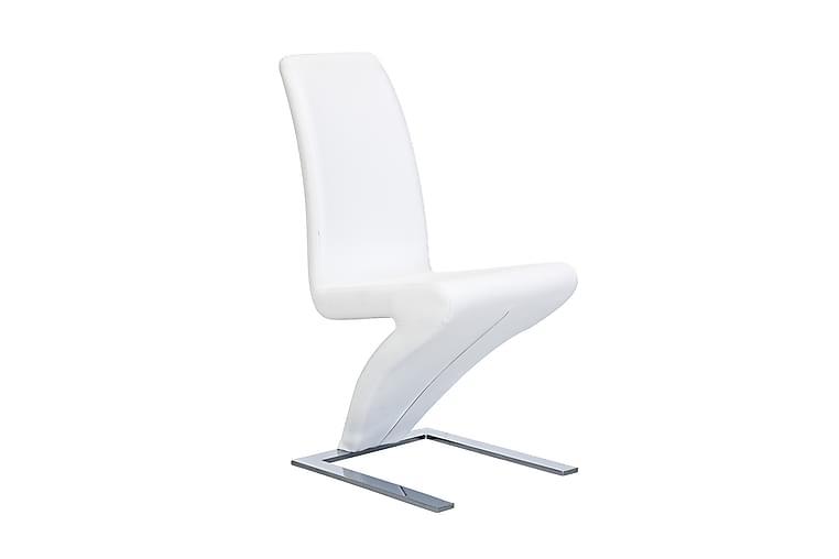 Zion stol Kunstlær Spisestol - Hvit - Møbler - Stoler - Spisestuestoler & kjøkkenstoler