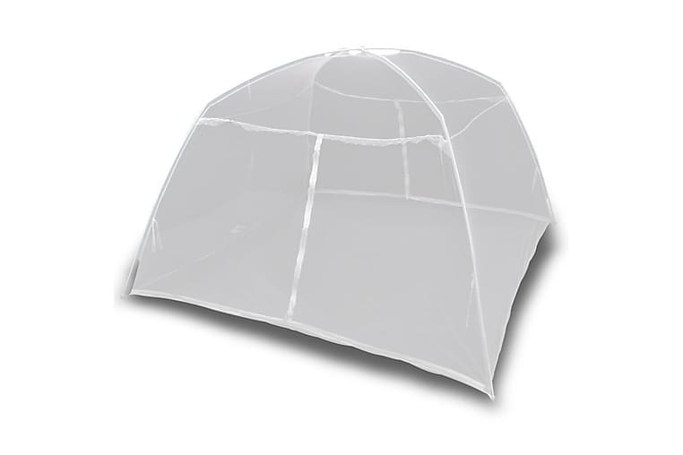 Campingtelt 200x120x130 cm glassfiber hvit - Hvit - Sport & fritid - Camping & vandring - Telt