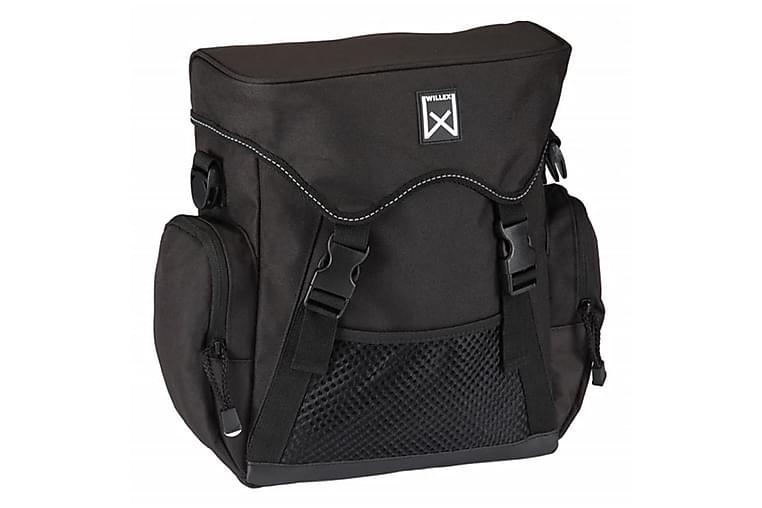 Willex Sykkelveske XL17 L svart 13501 - Sport & fritid - Friluftsliv - Sykler