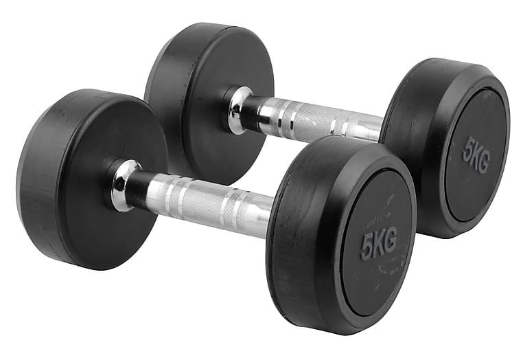 Treningsvekt 2 x 5kg - Sport & fritid - Hjemmetrening - Vekter & vektstenger