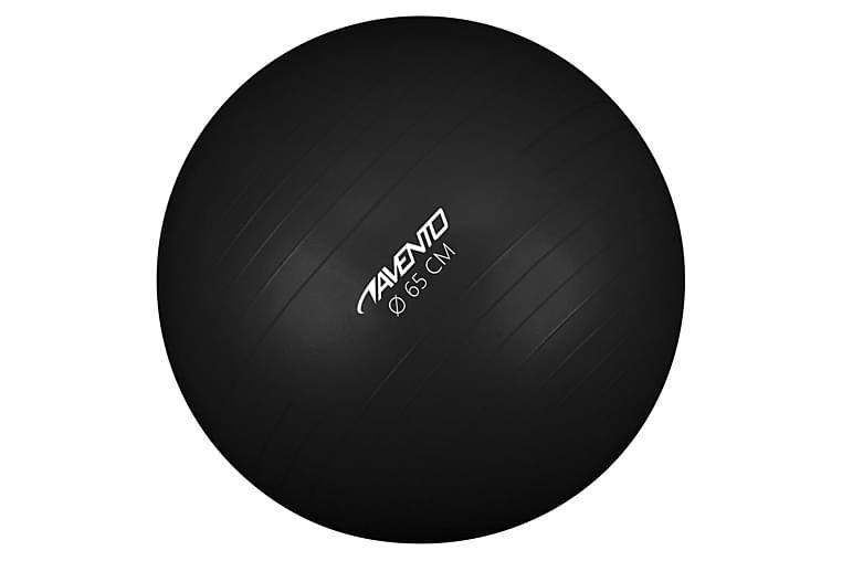 Avento Fitnessball diameter 65 cm svart - Svart - Sport & fritid - Hjemmetrening - Treningsutstyr