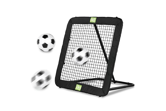 Exit Kickback Rebounder til Fotball L - Svart - Hage - Hobby & lek - Utendørs spill & sportsutstyr