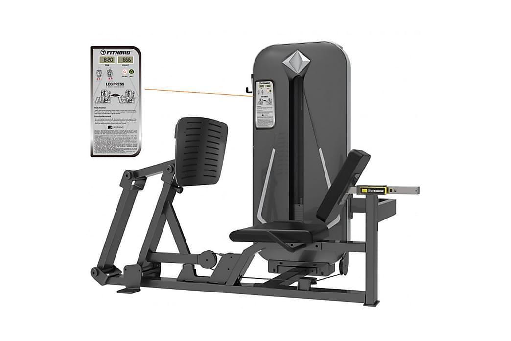 FitNord Diamond Legg Presse - Sport & fritid - Hjemmetrening - Treningsutstyr