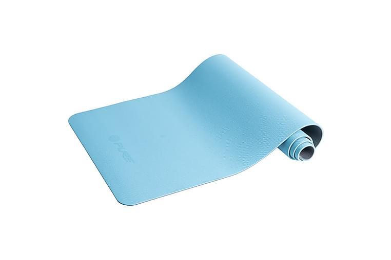 Pure2Improve Yogamatte 173x58x0,6 cm blå og grå - Sport & fritid - Hjemmetrening - Treningsutstyr